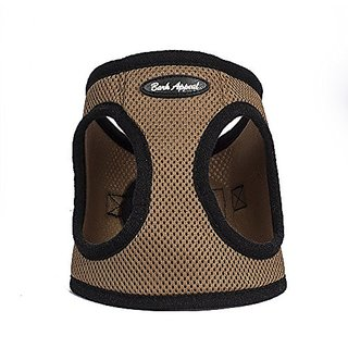 Bark Appeal Mesh Step in Harness, 2X-Large, Caramel Brown