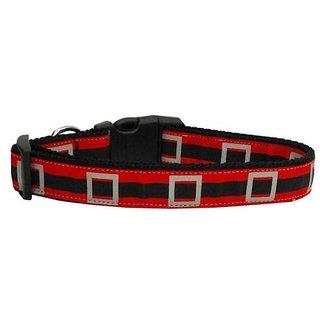 Mirage Pet Products Santas Belt Dog Collar Large