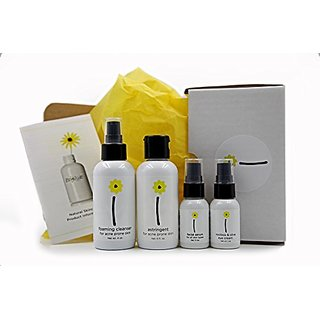 Brightside Skincare 4 Piece Skincare Set for Combination or Acne Prone Skin