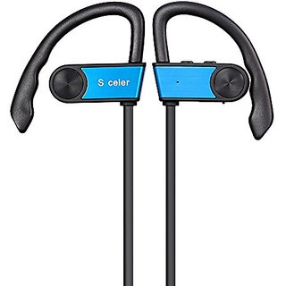 S celer Bluetooth Headphones V4.1+EDR Wireless Sport Stereo In-Ear Headset for iPhone 6s Plus Samsung Galaxy S6 S5 and A