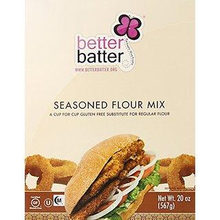 Better Batter Seasoned Flour Mix Gluten Free -- 20 oz
