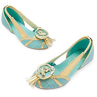 Disney Store Princess Jasmine Costume Shoes ~ Aladdin (11/12)