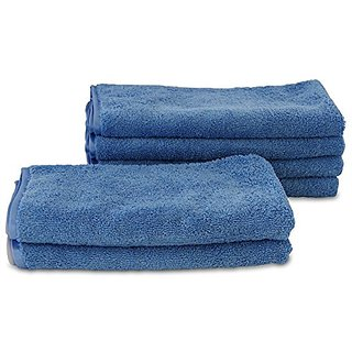 A&H Towels Premium, Heavy Duty Super Plush Thick Microfiber Towel, Blue, X-Large, 3 Piece