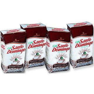 Santo Domingo Whole Roasted Bean Dominican Coffee 4 Bags / Pounds Pack