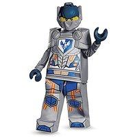 Disguise Clay Prestige Nexo Knights LEGO Costume, Medium/7-8