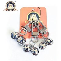 CatYou 3 Sets Pet Small Bells For Collar, Pet Ornament, Bell Training Pendants Jewelry For Pet Cat Dog Necklace Collar