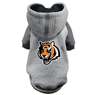 Hip Doggie NFL Bengals Pet Hoodie, 3X-Large