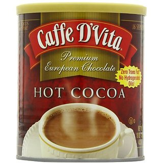 Caffe DVita Hot Cocoa, 16-Ounce Cans (Pack of 6)