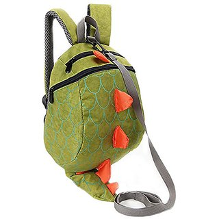 Zhuannian Toddler Kids Dinosaur Safety Harness Backpack (Green)