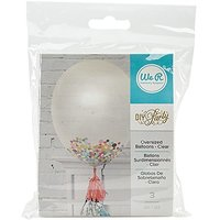 We R Memory Keepers 3 Piece DIY Party Clear Balloons