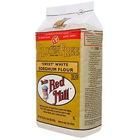 Bobs Red Mill Gluten Free Sweet White Sorghum Flour -- 22 Oz