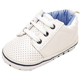 Annnowl Toddler Sneakers Anti-skid Soft Baby Boy Shoes 0-18 Months (12-18 Months)