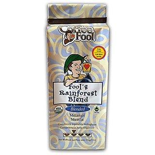 The Coffee Fool Fools Organic Fair Trade Rainforest, Drip Grind, 11 Ounce