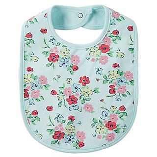 Carters Baby Girls Floral Feeding Bib -One Size