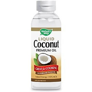 Natures Way Liquid Coconut Oil 20 Oz (Pack of 3)