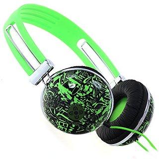 Moki ACC HPDG Dome Headphones - Graf Green