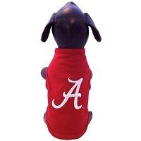 NCAA Alabama Crimson Tide Cotton Lycra Dog Tank Top, Tiny