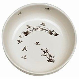 Le Petit Chasseur (Little Hunter) Ceramic Pet Bowl