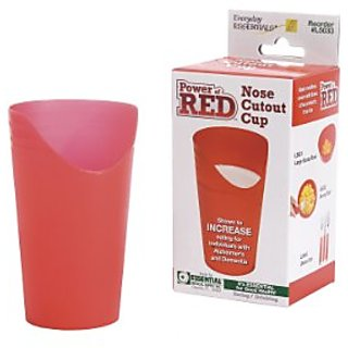 Essential Medical Supply Power of Red Nose Cut Out Cup