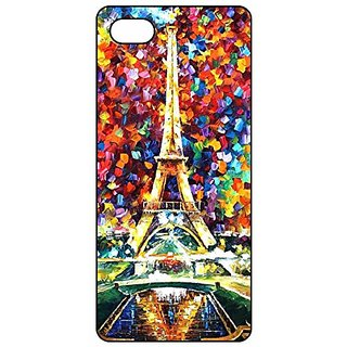 Generic Iphone 5s Case,Painted Effiel Tower Iphone 5 5s Case (Black TPU)