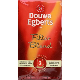 Douwe Egberts Douwe Egberts Filter Blend Ground Coffee, Medium Roast, 8.8-Ounce Packages (Pack of 4)
