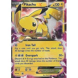 Pokemon - Pikachu-EX (XY84) - XY Black Star Promos - Holo