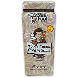 The Coffee Fool French Press Coffee, Fools Cocoa Cream Spice, 12 Ounce