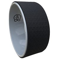 Yoga Office Wheel By The Work(in), Prop. Eco Friendly. Great For Backbends And Stretching. Basic 12in. Free Online Video