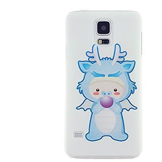 CaseBee - Kid In Dragon Costume Samsung Galaxy S5 i9600 SM-G900 case - Perfect Gift (Package includes Screen Protector)