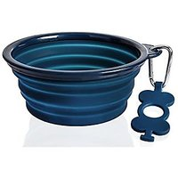 Collapsible Dog Bowl By SiliPet For Medium To Large Dogs. Lightweight, Sturdy, Leak Proof, Food Safe