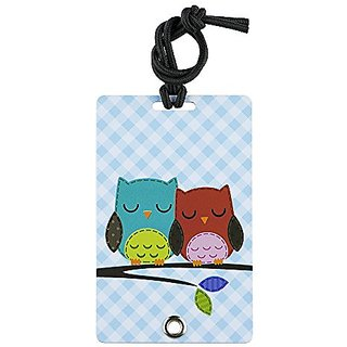 YaYtag Fun New Concept of Luggage Tag - 2 Pack - Better Together