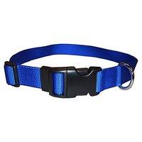 Coastal Pet 06901 A BLU26 Adjustable Dog Collar, 1-Inch, Blue