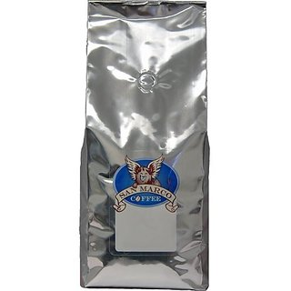 San Marco Coffee Decaffeinated Flavored Ground Coffee, Nuts and Cream, 2 Pound