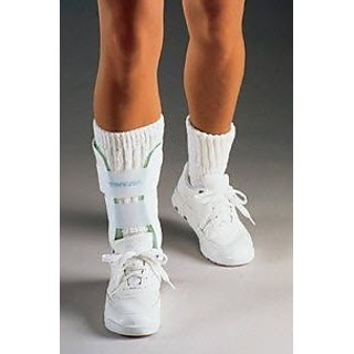 Aircast 02JL Air Stirrup Paediatric Ankle Brace, Left, 6