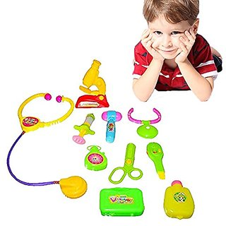 Toy Cubby Pretend Play Adorable Medical Doctor Kits Set
