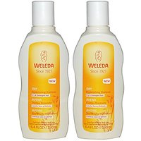 Weleda Oat Replenishing Shampoo For Dry And Damaged Hair With Natural Jojoba And Organic Sage Leaf, 6.4 Fl. Oz. (Pack Of