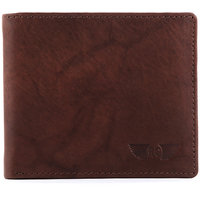 Royster Callus Men's Leather Wallet- RC113 (BROWN)