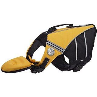 Doggles Dog Flotation Jacket, XS, Yellow