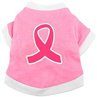 smalllee_lucky_store Ribbon Shirt for Small Dogs, Large, Pink