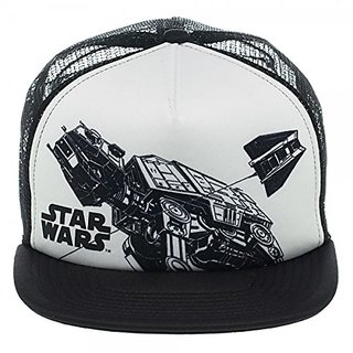 Baseball Cap - Star Wars - Snowspeeder Trucker Hat New Licensed ba1h88stw