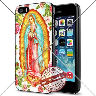 Virgin Mary Praying iPhone 5 / 5S Case Cover Cool Smartphone Collector Hard Case Black