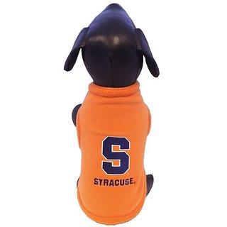 NCAA Syracuse Orange Polar Fleece Dog Sweatshirt, X-Large