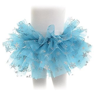Underwraps Girls Snowflake Tutu Costume