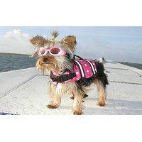 Yosoo Assorted Color Choice - Swimming Water Pet Life Jacket Life Preserver Vest Saver Pet Dog Saver Life Vest Coat Flot