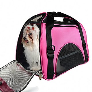 All Cart Pet Carriers Airline Approved Travel Tote Bag Pets Handbag - Medium