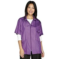 Top Performance Shirt-Style Grooming Jacket, Large, Violet