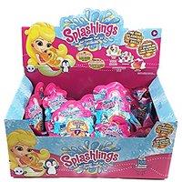 Splashlings Wave 1, 2 Pack Foil Bag Case Pack Bundle - 2 Pack (64 Splashlings Total)