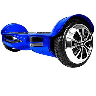 Swagway Swagtron T3 Hands-Free Smart Balance Scooter with SentryShield, Blue