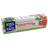 Organic Oral Care Sensitive Gel Orange Mint Toothpaste
