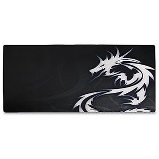 WATERFLY XL Size Neoprene Locked Dragon Mouse Pad Large Patterned Game / Office / Home / Desk Mousepad / Keyboard Mat An